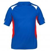 Футболка игровая  крас-син-бел